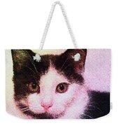Confetti Kitty Weekender Tote Bag