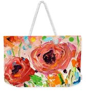 Confetti Poppies Weekender Tote Bag