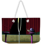 Confidence Weekender Tote Bag by Cynthia Decker