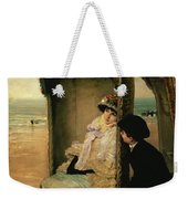 Confidences On The Beach Weekender Tote Bag