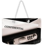 Confidential Documents Weekender Tote Bag