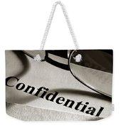 Confidential Weekender Tote Bag