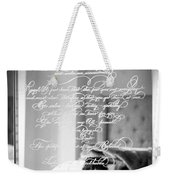 Confidently Lost - Immortal Beloved Love Letter Weekender Tote Bag