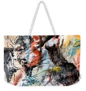 Conflict And Dialogue Weekender Tote Bag
