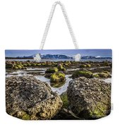 Conglomerate Boulders, Green Point, Nl Weekender Tote Bag