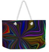 Conglomerate Of The Color Wheel Weekender Tote Bag