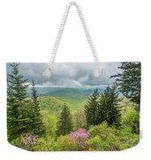 Conifers And Blooms Weekender Tote Bag