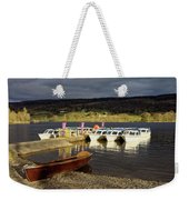 Coniston Water Boats Weekender Tote Bag