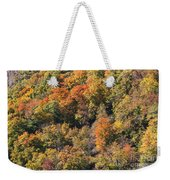 Connecticut Fall Color Weekender Tote Bag
