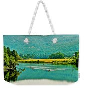 Connecticut River Between New Hampshire And Vermont Weekender Tote Bag