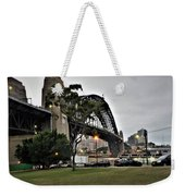 Connecting North And South Weekender Tote Bag