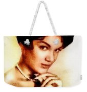 Connie Francis, Music Legend By John Springfield Weekender Tote Bag
