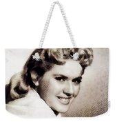 Connie Stevens, Vintage Actress Weekender Tote Bag