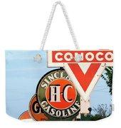 Conoco Sign 081117 Weekender Tote Bag