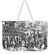 Conquest Of Inca Empire Weekender Tote Bag