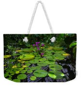 Conservatory Waterlilies Weekender Tote Bag