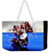 Consider The Ants 2 Of 3 Weekender Tote Bag