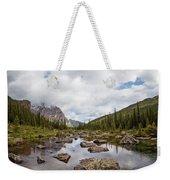 Consolation Lake Banff Weekender Tote Bag