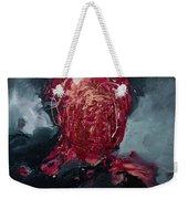 Consumption Series, I Weekender Tote Bag by Daniel Hannih