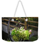 Contained Flowers  Weekender Tote Bag