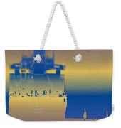 Container Sail 3 Weekender Tote Bag