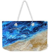 Contemporary Abstract Beach Nacl Weekender Tote Bag