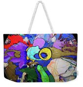 Contemporary Art - Abstract In The Round  Weekender Tote Bag