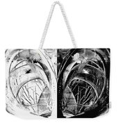 Contemporary Art - Black And White Embers 1 - Sharon Cummings Weekender Tote Bag