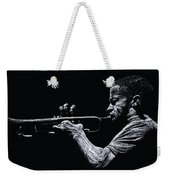 Contemporary Jazz Trumpeter Weekender Tote Bag