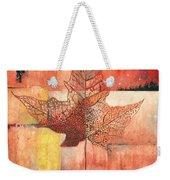 Contemporary Leaf 2 Weekender Tote Bag