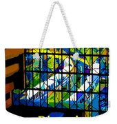 Contemporary Window To The World Weekender Tote Bag