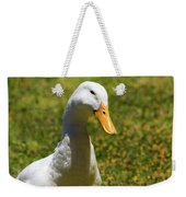 Contentment Weekender Tote Bag
