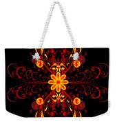 Continental Abstract Weekender Tote Bag