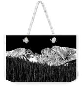 Continental Divide - Indian Peaks - Poster Weekender Tote Bag