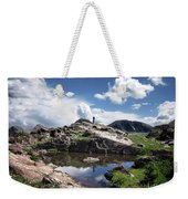 Continental Divide Above Twin Lakes 2 - Weminuche Wilderness Weekender Tote Bag