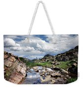 Continental Divide Above Twin Lakes 3 - Weminuche Wilderness Weekender Tote Bag