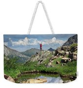 Continental Divide Above Twin Lakes 4 - Weminuche Wilderness Weekender Tote Bag