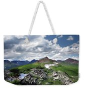 Continental Divide Above Twin Lakes 6 - Weminuche Wilderness Weekender Tote Bag
