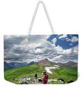 Continental Divide Above Twin Lakes 7 - Weminuche Wilderness Weekender Tote Bag