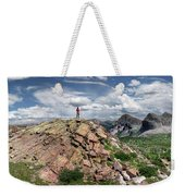 Continental Divide Above Twin Lakes - Weminuche Wilderness Weekender Tote Bag