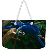 Contorted Parrots Weekender Tote Bag