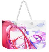 Contortion Abstract Weekender Tote Bag