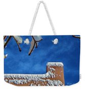Contrast After The Snow Weekender Tote Bag