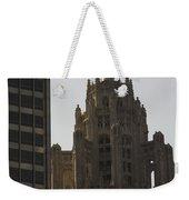 Contrast Weekender Tote Bag