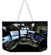 Control Room Center For Emergency Weekender Tote Bag by Terry Moore