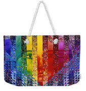 Conundrum I - Rainbow Woman Weekender Tote Bag