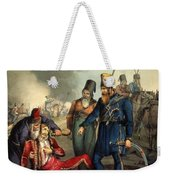 Conventional Battle Scene Weekender Tote Bag