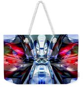 Convergence Abstract Weekender Tote Bag by Alexander Butler