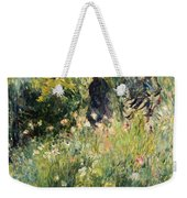 Conversation In A Rose Garden Weekender Tote Bag