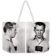 Convict No. 1428 - Whitey Bulger - Alcatraz 1959 Weekender Tote Bag